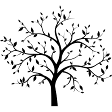 Tree Decals Vinyl Trees Tree Silhouette Vinyl Tree Silhouette Wall Decals Trees
