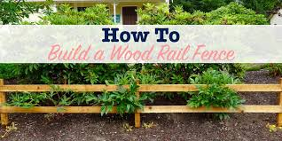 How To Build A Wood Rail Fence Single Girl S Diy