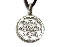 pagan alatyr sterling silver pendant