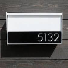 Modern Wall Mount Mailbox Ideas On Foter