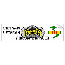 Airborne Ranger Bumper Sticker Zazzle Com