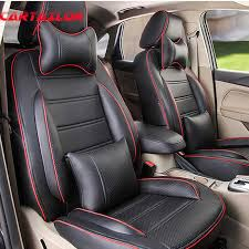 cartailor pu leather cover seats for