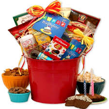 birthday gift pail especially for him