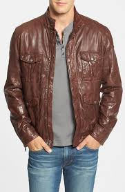 lucky brand roadster leather jacket