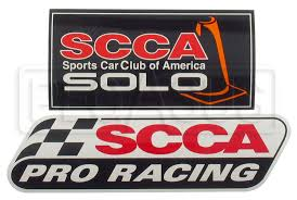 Scca Solo Car Decal Pegasus Auto Racing Supplies