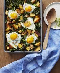 whole30 roasted potato and kale hash