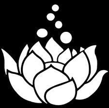 Amazon Com Lotus Flower White 5 Vinyl Sticker Decal For Cars Trucks Computers Notebooks Etc Automotive