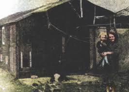 Calverton Village Online - 1948 Woman & Her Hut