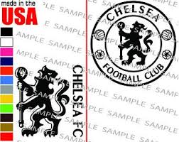 Chelsea Fc Decal Etsy