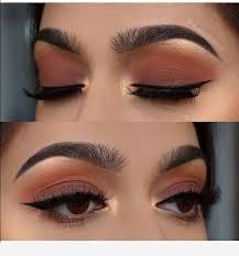 light brown eye makeup