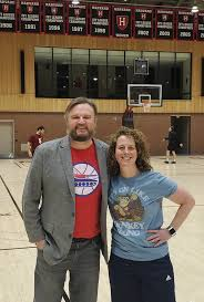 Daryl Morey wearing a Sixers tanking T ...