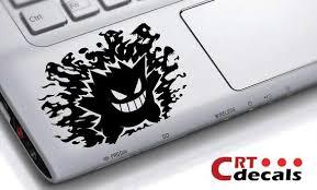 Gengar Pokemon Vinyl Decal Wrist Decal Laptop Decal Etsy