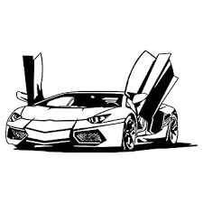 Amazon Com Herra Sports Car Wall Decal Racing Bike Car Wall Sticker Peel And Stick Removable Car Wall Stickers Wall Mural For Kids Boys Nursery Bedroom Living Room Home Decor Black Arts Crafts