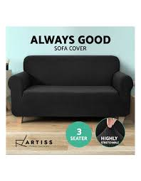 artiss high stretch sofa cover couch