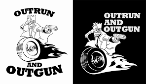 Entry 9 By Hotxman For Outrun And Outgun Club Car Decal Logo Freelancer