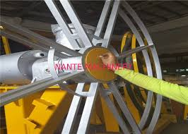motorized crane cable reel system