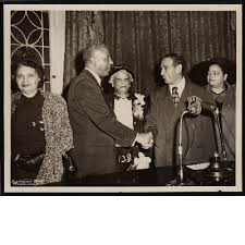 Mrs M.P. Webster, A. Philip Randolph, Lucille Campbell Green ...