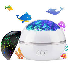 Peroptimist Baby Kids Night Light Projector Ocean Constellation Night Lights Projector Lamp Rotating And Colorful Mood Nursery Soother Light For Baby Kids Boys Girls Toddlers Adults In Bedroom Walmart Com Walmart Com