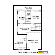 house plan for 28 feet by 48 feet plot