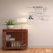 Mark Twain Wall Decal Quote Most Important Days Vinyl Art Etsy