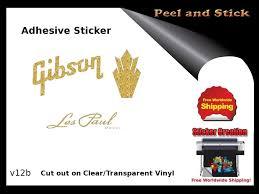 Sticker Sticker Decal Gibson Les Paul Model Headstock Restoration Guitar Archives Midweek Com