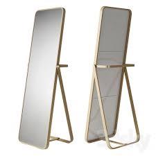 ikea ikornnes espelhos vintage piso