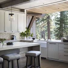 modern rustic mountain home
