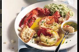 Steamed Lobster with Lemon-Herb Butter ...