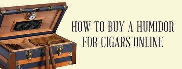 how to a humidor for cigars