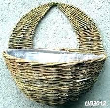 woven wall baskets flat basket decor