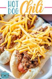 homemade hot dog chili video the