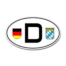 Cardecal Land Bavaria Sticker Oval Germany Car Sticker Bayern Variant By German Pride Cafepress Stickers Car Stickers Germany