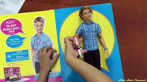 Búp bê con trai/ búp bê Ken biết nói. Barbie Life in the ...