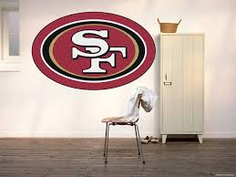 Buy 49ers Decals 49ers Stickers San Francisco 49ers Decal 49ers Home Decor 49ers Car Sticker Nfl San Francisco 49ers Sticker San Francisco 49ers Decal 49ers Wall Decal Bm22 48 X 76 Online