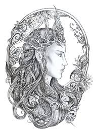 156 Best Angels Fairytale And Mythical Coloring Pages Images