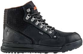 scruffs grind gtx men s black leather