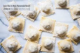 how to make homemade ravioli