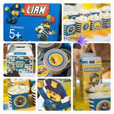 My Boy S 5th Birthday Party Lego Police Www Facebook Com