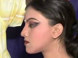 indian clical dance makeup demo for