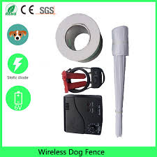 Underground Waterproof Rechargeable Pet Electric Fence Shock Collar Electric Dog Pet Training Fence Fencing Dog Tra Wireless Dog Fence Dog Fence Electric Fence