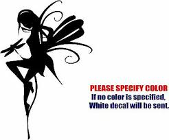 Fairy With Dragonfly Decal Sticker Jdm Funny Vinyl Car Window Bumper Truck 12 Ebay