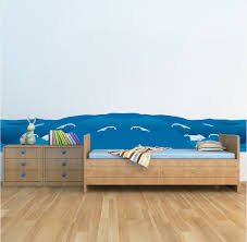 Waves Wall Decal Animal Wall Decal Murals Primedecals