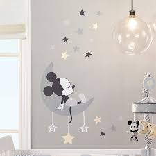 Mickey Mouse Wall Decals In 2020 Mickey Mouse Wall Decals Disney Baby Rooms Mickey Mouse Wall