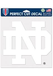 University Of Notre Dame Car Decals Fighting Irish Window Stickers Notre Dame Clings Decals