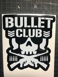 The Bullet Club Kenny Omega Young Bucks Villain Vinyl Car Decal Njpw Elite Wwe 6 00 Picclick