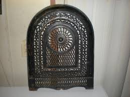 beautiful antique cast iron fireplace