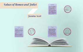 values of romeo and juliet by jasmine scott on prezi