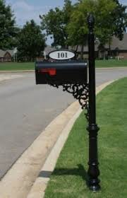 Iron Mailbox Post Ideas On Foter