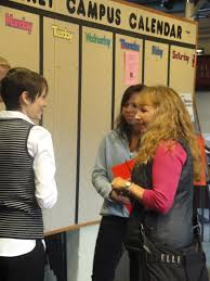 Admissions Counselor Abby Jones speaks with a prospective …   Flickr
