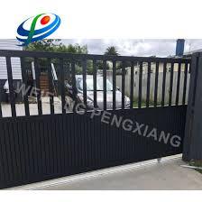 China Blake Powder Coated Aluminum Steel Tubular Pool Fencing Gate China Garden Fence Aluminum Fence